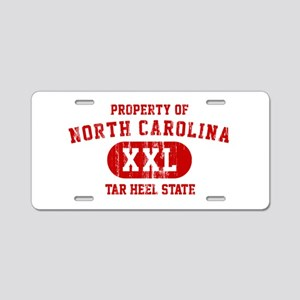 Property of North Carolina, Tar Heel State Aluminu