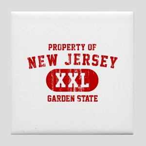 Property of New Jersey the Garden State Tile Coast