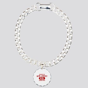 Property of New Jersey the Garden State Charm Brac