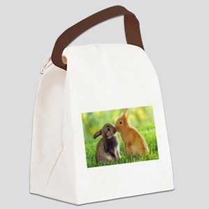 Love Bunnies Canvas Lunch Bag