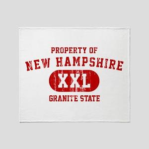 Property of New Hampshire the Granite State Stadi