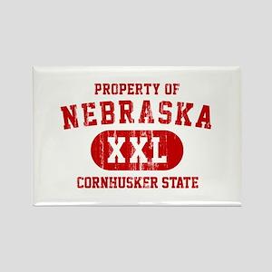 Property of Nebraska the Cornhuskers State Rectang