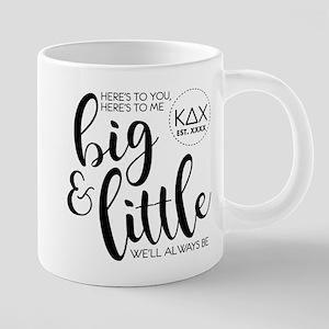 Kappa Delta Chi Big Little 20 oz Ceramic Mega Mug