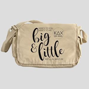 Kappa Delta Chi Big Little Messenger Bag