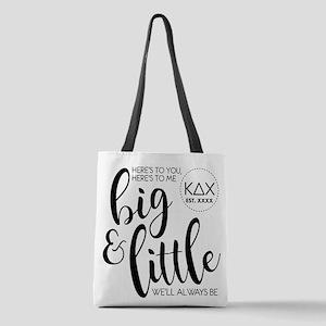 Kappa Delta Chi Big Little Polyester Tote Bag