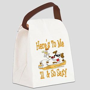 DogToast21 Canvas Lunch Bag