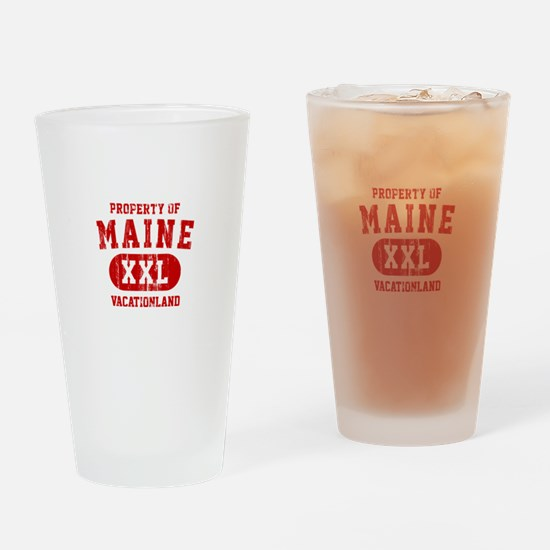 Property of Maine the Vacationland Drinking Glass