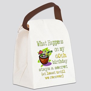 WhatHappens60 Canvas Lunch Bag