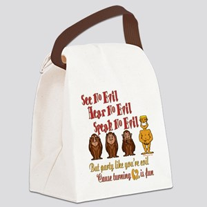 partyevil62 Canvas Lunch Bag