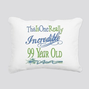 IncredibleGreen99 Rectangular Canvas Pillow
