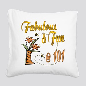 FabulousFun101 Square Canvas Pillow