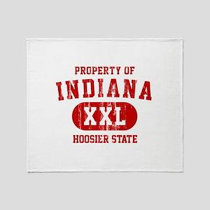 Property of Indiana the Hoosier State Stadium Bla