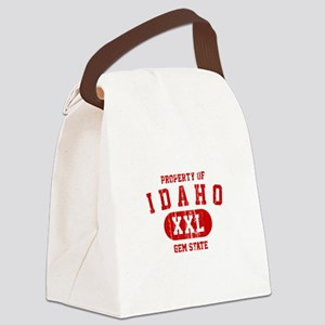 Property of Idaho the Gem State Canvas Lunch Bag