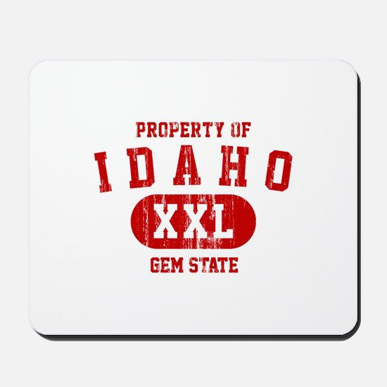 Property of Idaho the Gem State Mousepad