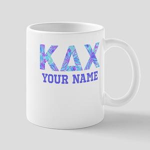 Kappa Delta Chi Floral 11 oz Ceramic Mug