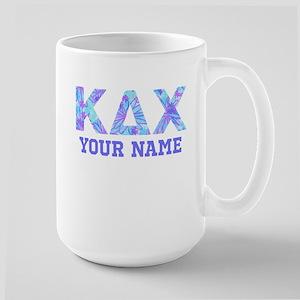 Kappa Delta Chi Floral 15 oz Ceramic Large Mug