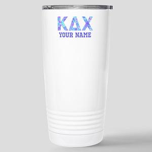 Kappa Delta Chi F 16 oz Stainless Steel Travel Mug