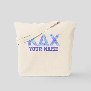 Kappa Delta Chi Floral Tote Bag