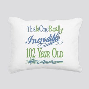 IncredibleGreen102 Rectangular Canvas Pillow