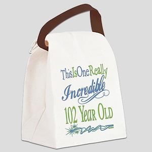 IncredibleGreen102 Canvas Lunch Bag