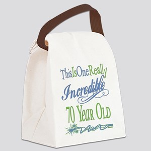 IncredibleGreen70 Canvas Lunch Bag