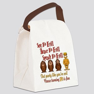 partyevil70 Canvas Lunch Bag