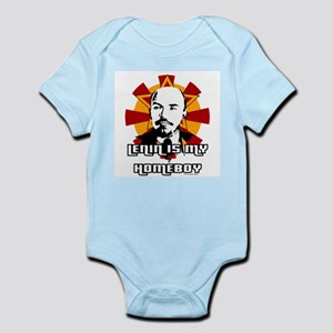 Lenin is my Homeboy Infant Creeper