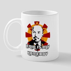 Lenin is my Homeboy Mug