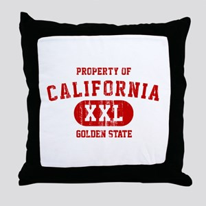 Property of California the Golden State Throw Pill