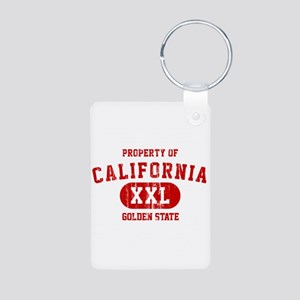 Property of California the Golden State Aluminum P