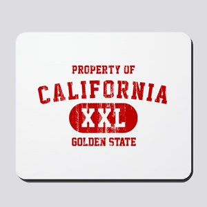 Property of California the Golden State Mousepad
