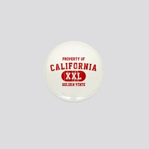 Property of California the Golden State Mini Butto