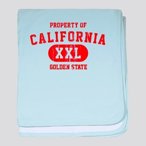 Property of California the Golden State baby blank