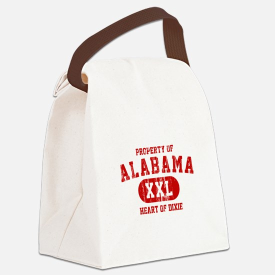 Property of Alabama, Heart of Dixie Canvas Lunch B