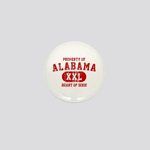 Property of Alabama, Heart of Dixie Mini Button