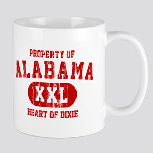 Property of Alabama, Heart of Dixie Mug