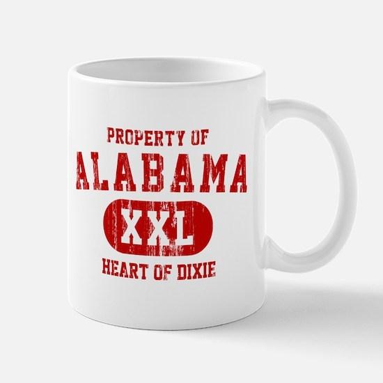 Property of Alabama, Heart of Dixie Mug