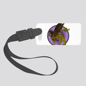 Disc Golf Gryphon Small Luggage Tag
