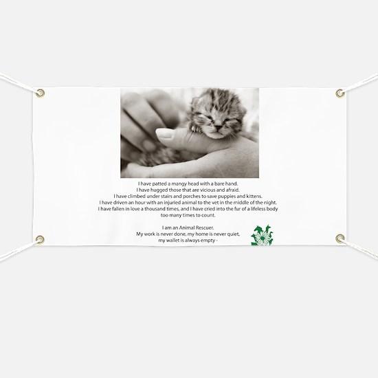 I am an Animal Rescuer Banner