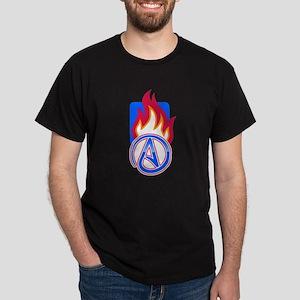 Atheist Sport Flame Dark T-Shirt