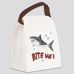 Shark - Bite Me Canvas Lunch Bag