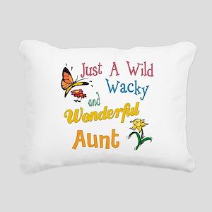 wonderful aunt Rectangular Canvas Pillow
