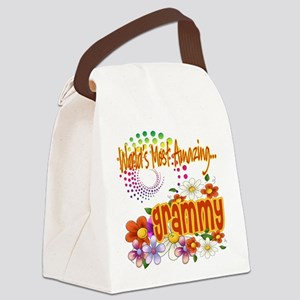 Amazing grammy copy Canvas Lunch Bag