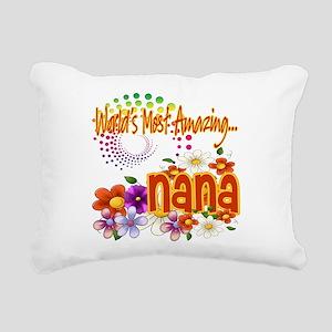 Amazing nana copy Rectangular Canvas Pillow