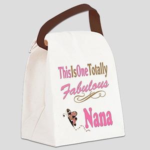 A Fabulous Nana copy Canvas Lunch Bag