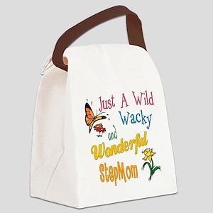wildandwackystepmom Canvas Lunch Bag