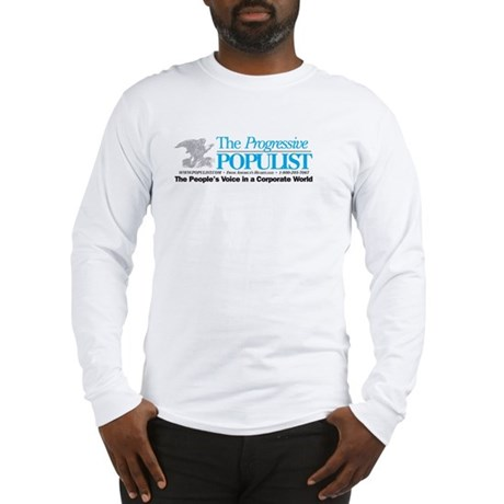 Progressive Populist Long Sleeve T-Shirt