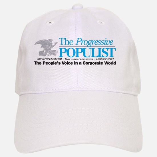 Progressive Populist Baseball Baseball Cap