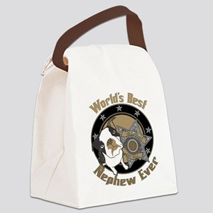 TopDogWorldsBestNephew copy Canvas Lunch Bag