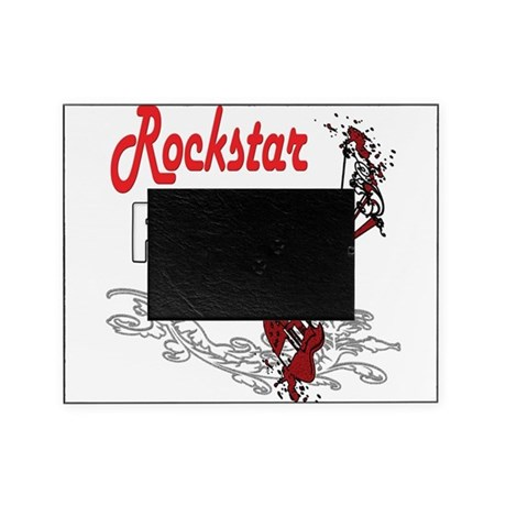 Rockstar papa copy Picture Frame by justforhim
